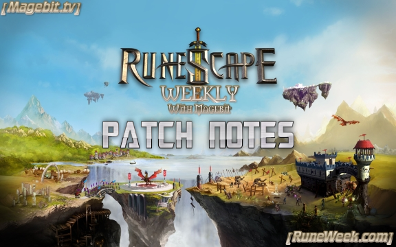 Runescape Weekly Patch Notes for 3/31/2014